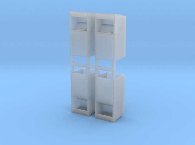 Altkleidercontainer 4er Set 1:120