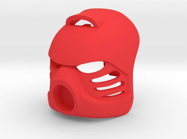 G2 adapted Kanohi Hau in Red Processed Versatile Plastic