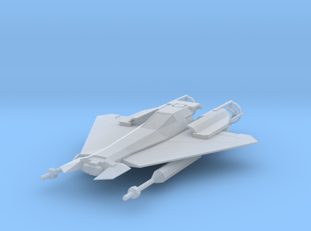 Flashfire-class Fighter in Frosted Ultra Detail