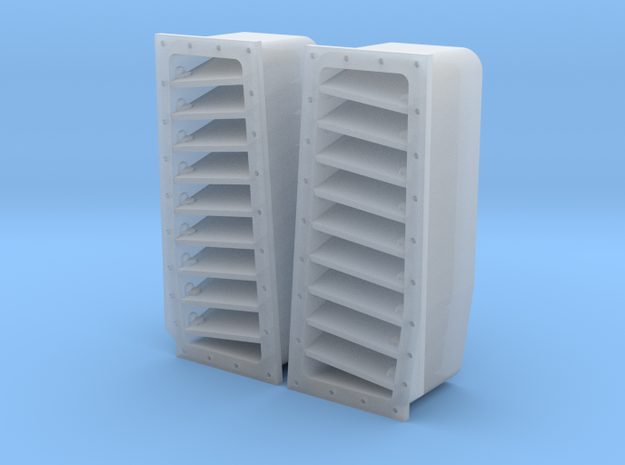 F-14A/B/D fuselage top louvers for Tamiya, Trumpet