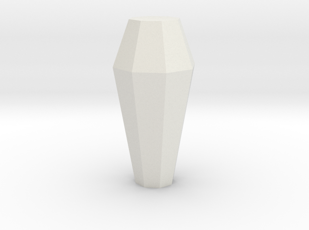 Necron Monolith Crystal Replacement / Upgrade Part in White Natural Versatile Plastic