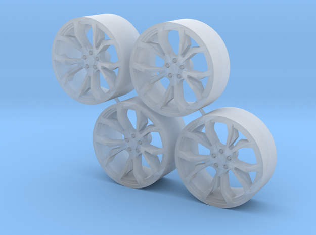 Wheel S-I500 in Smooth Fine Detail Plastic