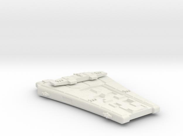 3125 Scale Maesron Dreadnought (DN) MGL in White Natural Versatile Plastic