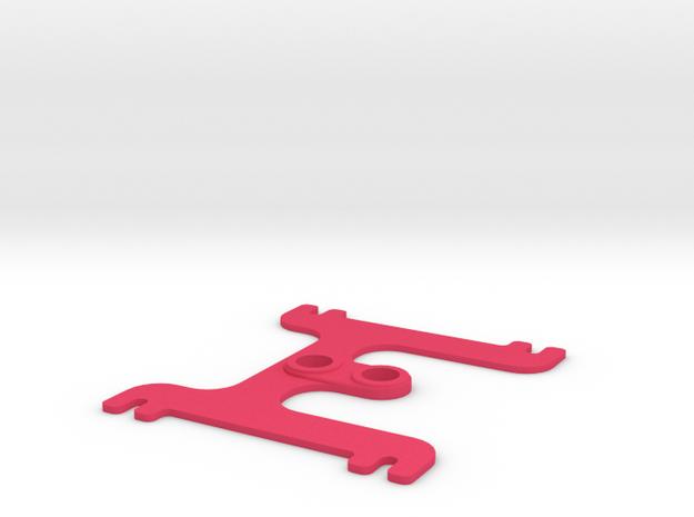 H BAT 1.0 in Pink Processed Versatile Plastic
