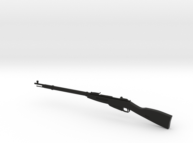 mosin nagant12312 in Black Strong & Flexible