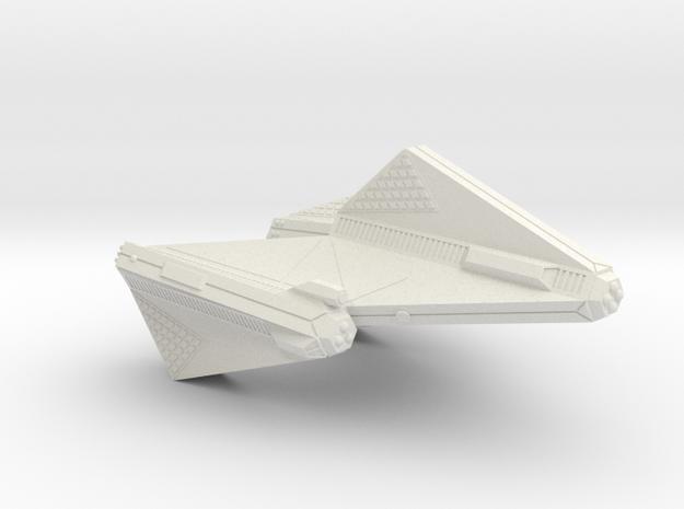 3125 Scale Tholian DPW Dreadnought SRZ in White Natural Versatile Plastic