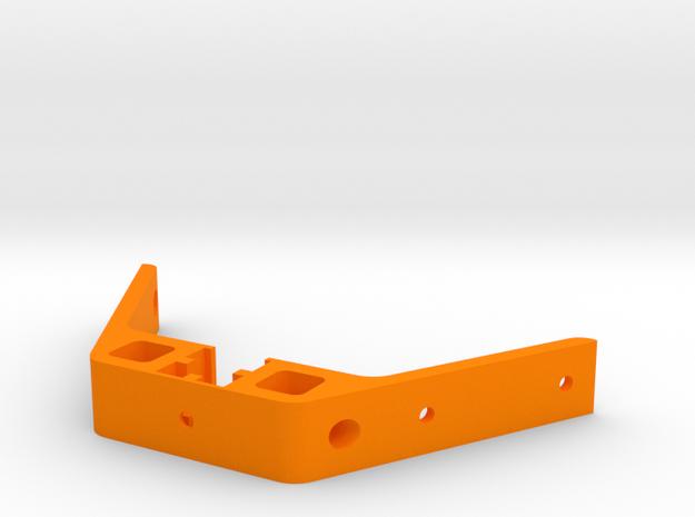 Kossel XL Deckel Verstrebung - Ndo Design in Orange Processed Versatile Plastic
