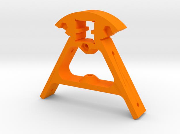 Kossel XL Ecke oben - Ndo Design in Orange Processed Versatile Plastic