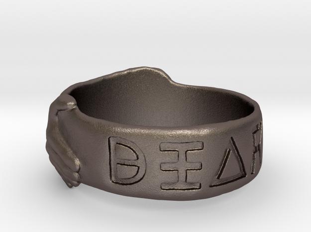 Ring of Diarröh in Stainless Steel: 10 / 61.5