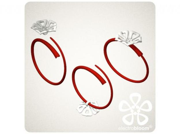 Snap bangle. 3d printed SNAP BANGLE HOW TO ADD YOUR CHARM