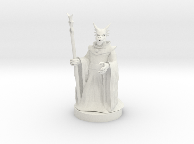 Kobold Sorcerer 2 in White Natural Versatile Plastic