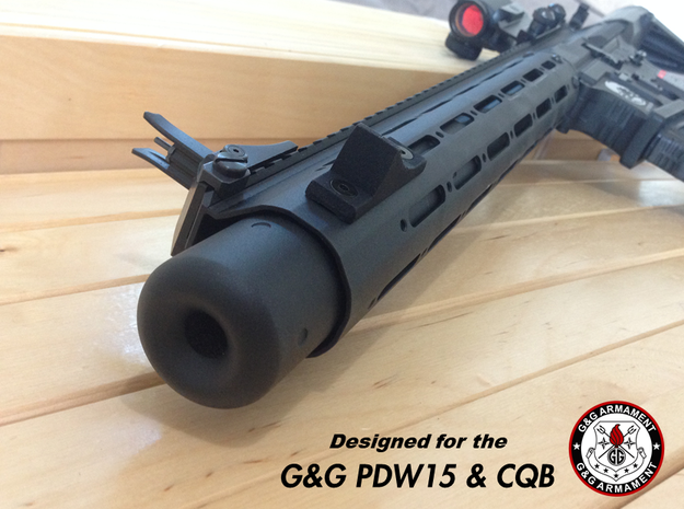 G&G PDW15 and CQB - Tactical Thumbstop in Black Strong & Flexible