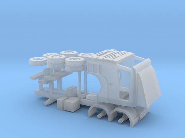 N Gauge Axor C 6x4 Lorry Kit Hi Top in Smooth Fine Detail Plastic