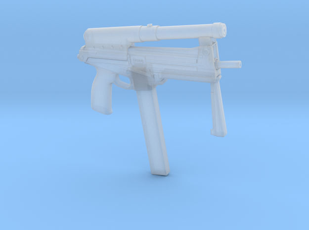 1/6 jatimatic smg 57.5mm final version..as used in in Smooth Fine Detail Plastic