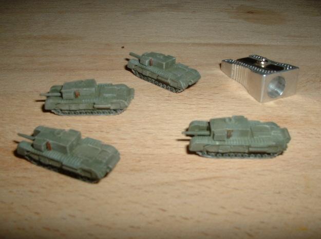 """Churchill A22D 3"""" Gun Carrier 1/285 6mm 3d printed"""