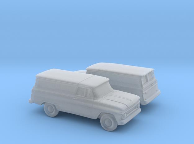 1/160 2X 1962 Chevrolet Panel Van in Smooth Fine Detail Plastic