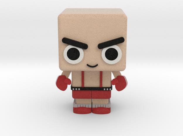 Boxer in Full Color Sandstone
