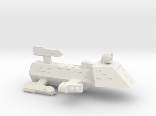 3125 Scale Kzinti Frigate (FF) SRZ in White Natural Versatile Plastic