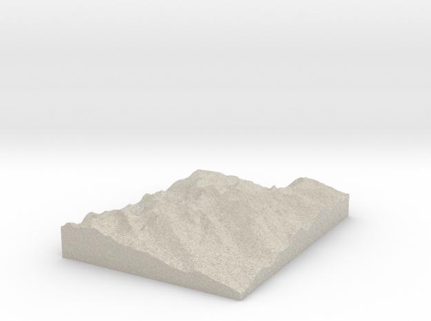 Model of She Devil in Natural Sandstone