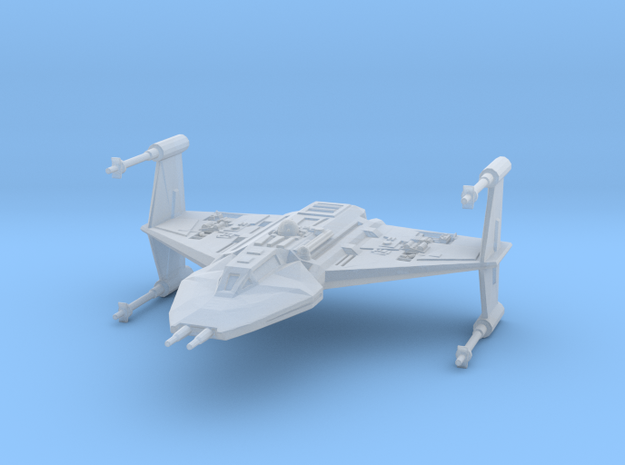 Toscan-class Fighter  in Smooth Fine Detail Plastic