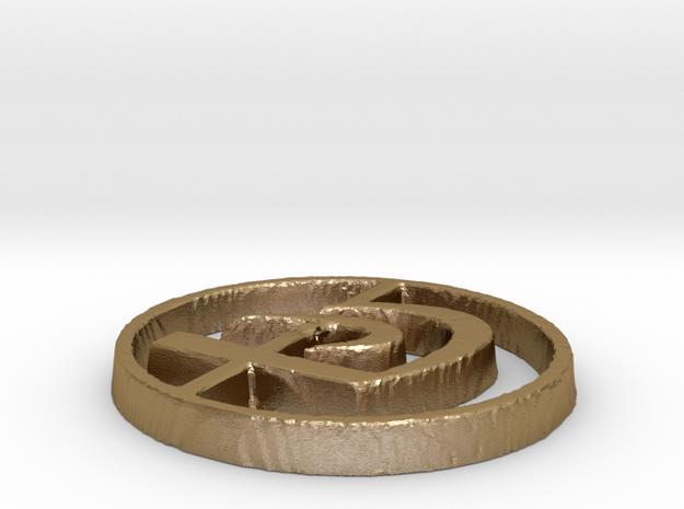 Krav Maga  in Polished Gold Steel