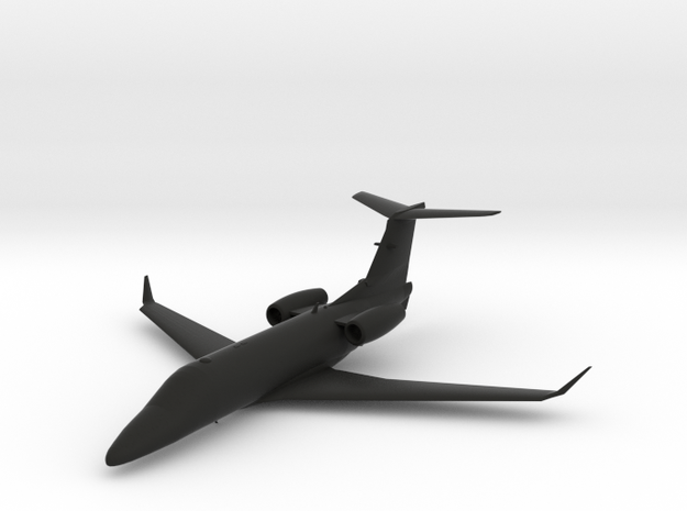 Embraer Phenom 300 in Black Natural Versatile Plastic