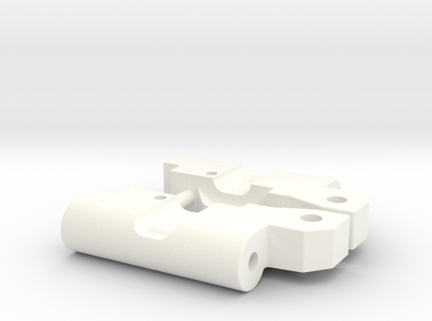 Custom RPM91 rear arm 0-3 mounts in White Processed Versatile Plastic