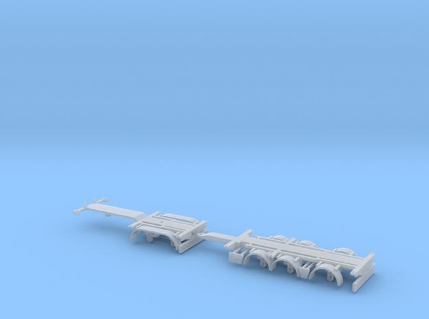1/87 Combitrailer 53-05D with Drawbar