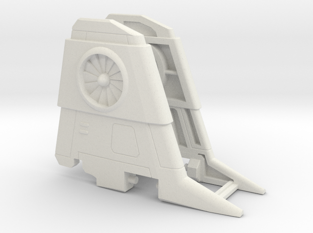 Thrust wings for CW Air Raid in White Strong & Flexible