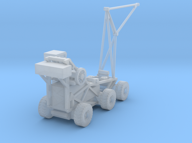 "1:400 Scale CVCC ""Tilly"" Crash Crane in Smooth Fine Detail Plastic"