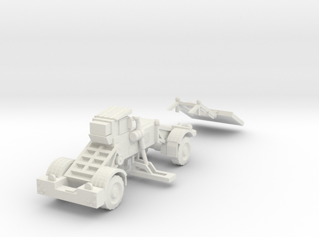1:87 Husky Route Clearance Vehicle in White Natural Versatile Plastic