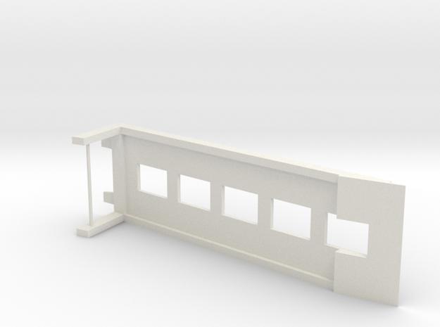 1:64 RAMP in White Natural Versatile Plastic