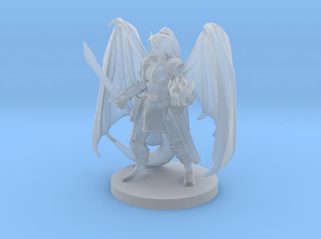 Tiefling Warlock 2 in Smooth Fine Detail Plastic