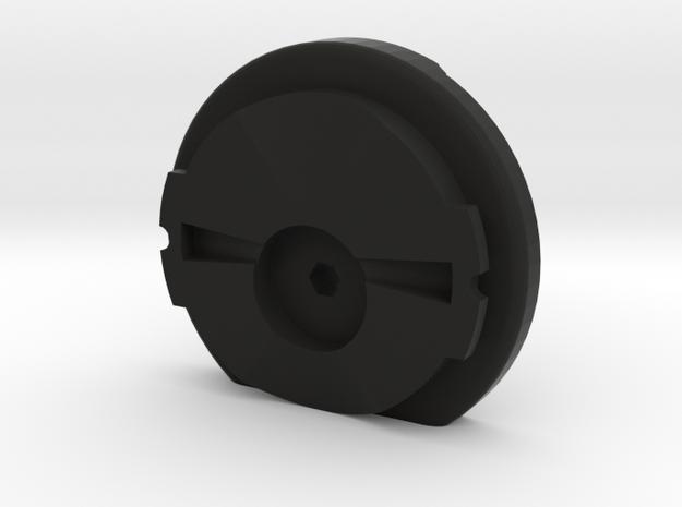 Garmin eTrex to quarter turn adapter in Black Strong & Flexible