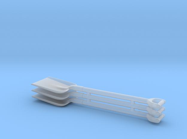 1/25 Square D-handle Shovels x3