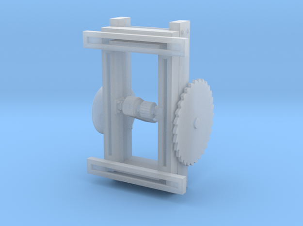 HO scale Circular Saw in Frosted Extreme Detail