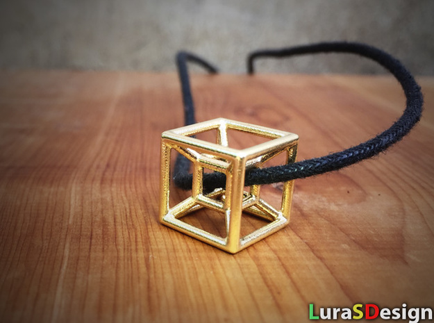 The Hypercube in Stainless Steel
