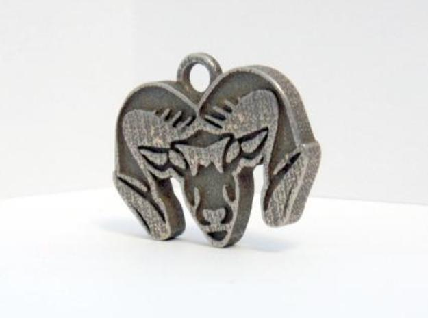 Ram's Head (Pendent Only) 3d printed Great Detail! My friends all ask me where I got it!