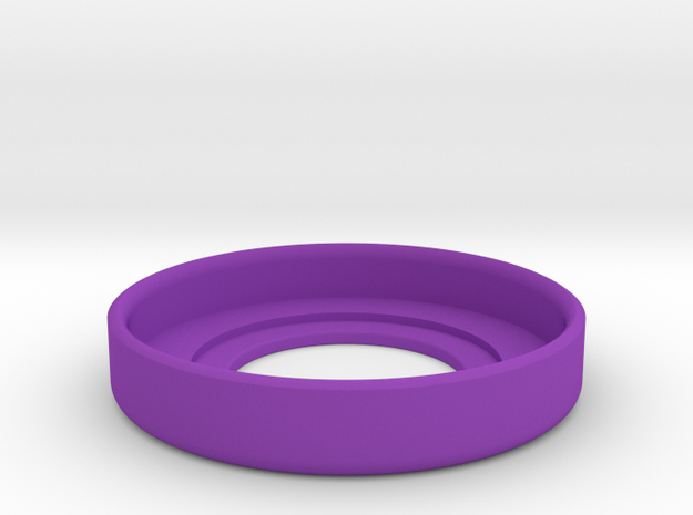 mm510 catch cup 22mm in Purple Processed Versatile Plastic