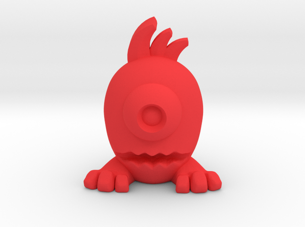 Eggpo, Jimly (PS002) in Red Processed Versatile Plastic