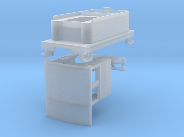Parts for 2-8-0 conversion A (cab,pilot,tender) 3d printed