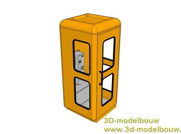(1:22,5) Duitse telefooncel type Quante FeH 78 3d printed Description