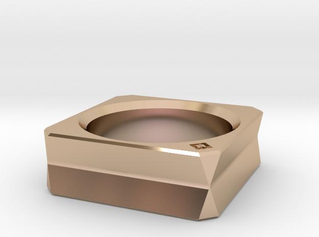 9732 Ring in 14k Rose Gold: 5 / 49