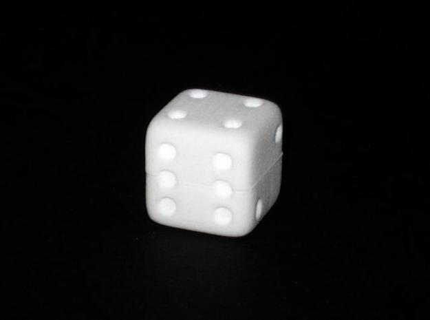 Hiding Die in White Natural Versatile Plastic