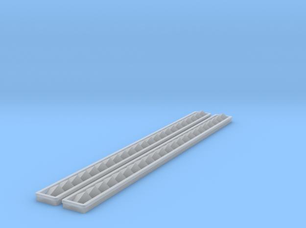 Engineroom Ventiltion Cigarette 38 Flat Deck 1:10 in Frosted Ultra Detail