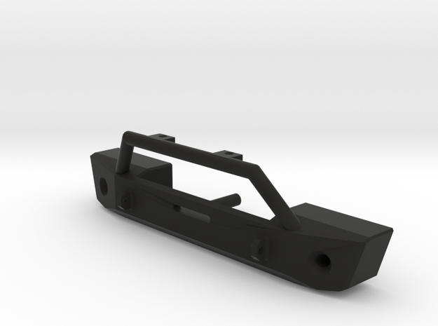 Bumper for Axial SCX10 JK Style in Black Natural Versatile Plastic