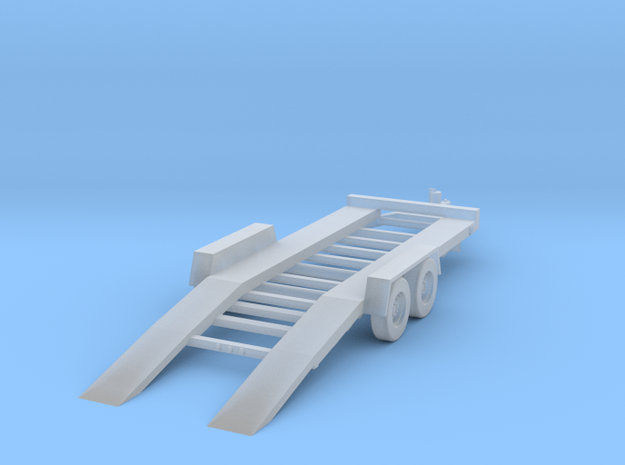 18-Foot Car Hauler - Loading in Smooth Fine Detail Plastic