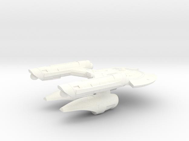 Terran Chang'e Heavy Frigate - 1:7000 in White Strong & Flexible Polished