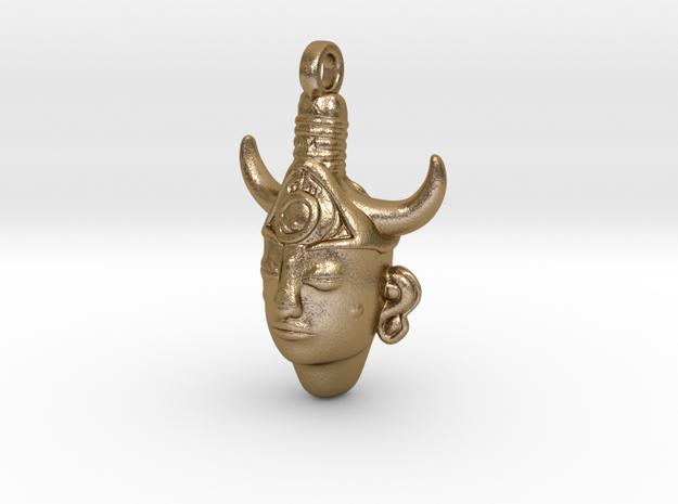 SUPERNATURAL Amulet 5cm Replica in Polished Gold Steel