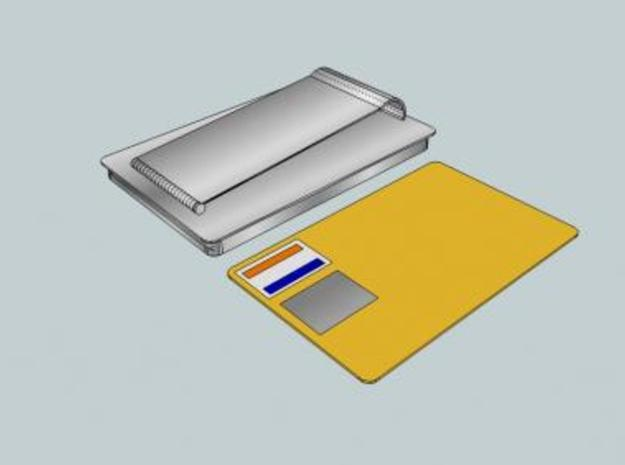 Money Clip/Card Holder 3d printed Fits credit cards and more!